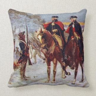 Washington y Lafayette en el ~ de la fragua del Cojín