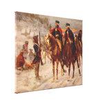 Washington y Lafayette en la fragua del valle Lienzo Envuelto Para Galerias