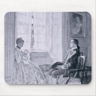 Washington y Maria Philipse Alfombrillas De Ratón