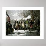 Washington y sus generales póster