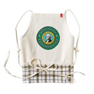 Washington Zazzle HEART Apron