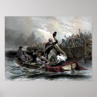 Washington's Adieu To His Generals Poster