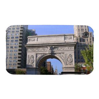 Washington's Arc, Empire State Bldg Blackberry Cur iPhone 3 Cases
