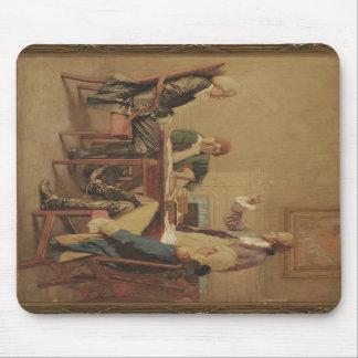 Washington's cabinet watercolor mousepad
