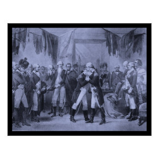 Washington's Farewell Poster