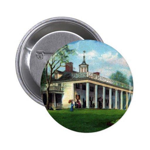 Washington's Homestead Mt. Vernon, VA Button
