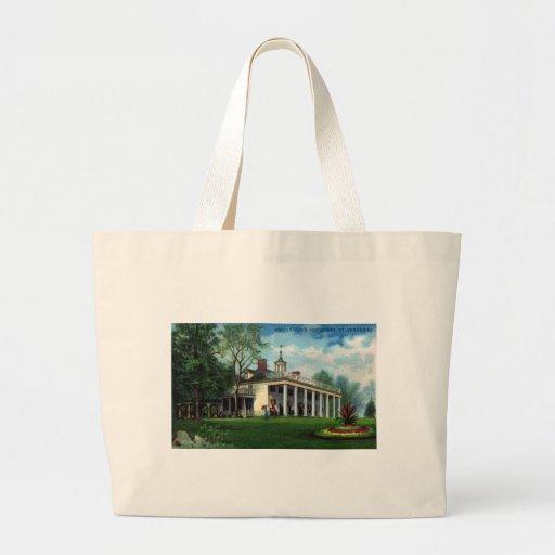 Washington's Homestead Mt. Vernon, VA Large Tote Bag