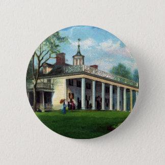 Washington's Homestead Mt. Vernon, VA Pinback Button
