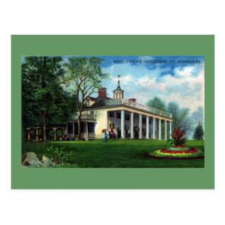Washington's Homestead Mt. Vernon, VA Post Card