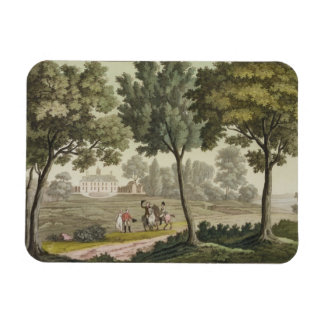 Washington's house at Mount Vernon, from 'Le Costu Magnet