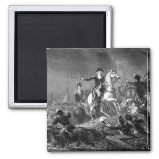 Washington's Retreat at Long Island_War Image Magnet