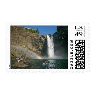 Washington's Snoqualmie Falls Stamp