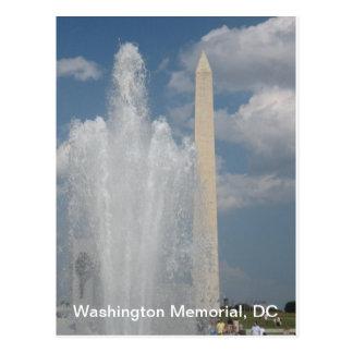 Washinton Monument, DC Postcard