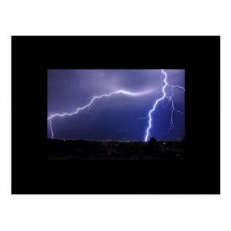 Washoe Valley Lightning Storm Postcard