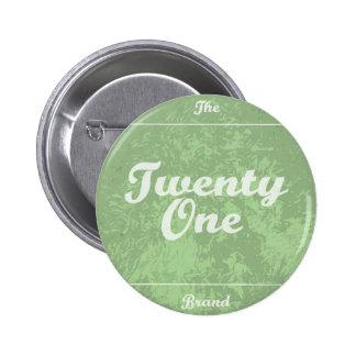 Washout TheTwentyOneBrand Logo Badge