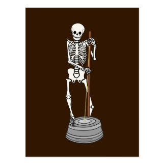 Washtub Bass Bones Postcard