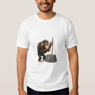 Washtub-Bass-Playin' Chimp Shirt