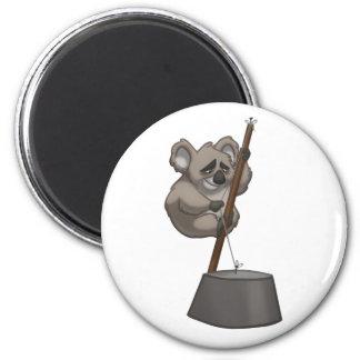 Washtub-Playin' Koala Magnet