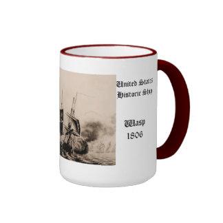 Wasp 1806 United States Historic ship Coffee Mug