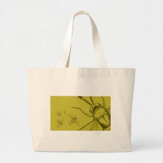 Wasp, Aphycus Annulipes Canvas Bag