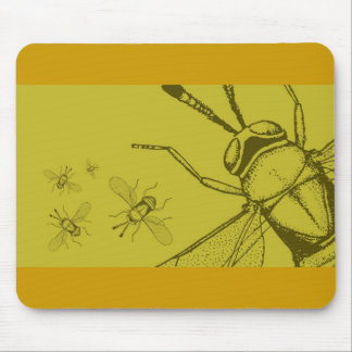 Wasp, Aphycus Annulipes Mouse Pad