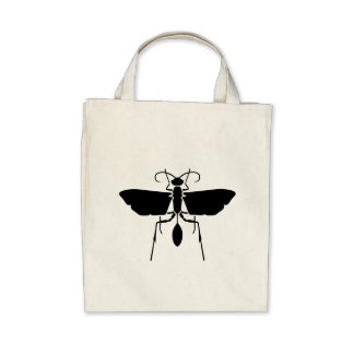 Wasp Tote Bags