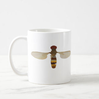 wasp bee insect nature science animal cute yellow coffee mug