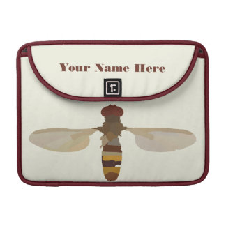 wasp bee insect nature science animal cute yellow MacBook pro sleeves