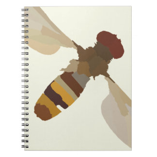 wasp bee insect nature science animal cute yellow notebook
