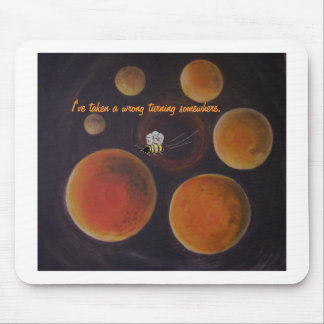 Wasp In Outer Space, mousepad