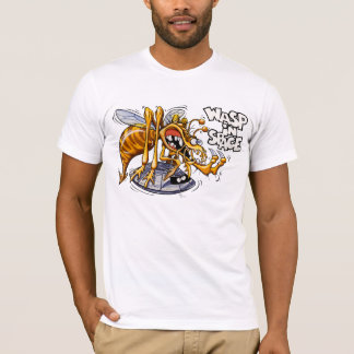 Wasp in Space White T-Shirt