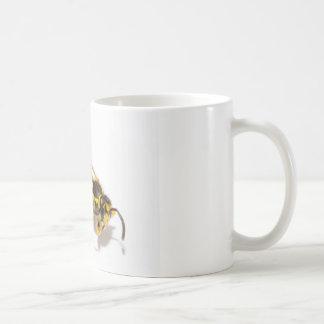 Wasp Classic White Coffee Mug