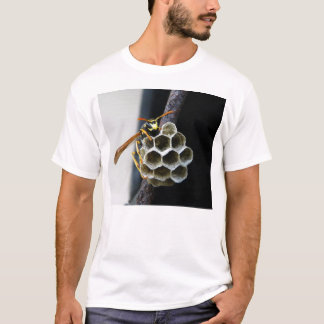 Wasp Nest and Worker T-Shirt