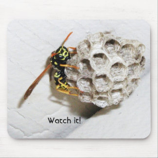 WASP Nest Mouse Pad