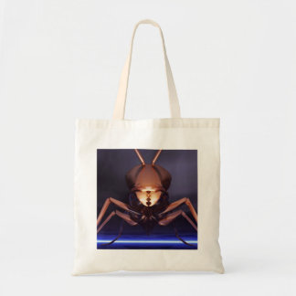 Wasp Of Gold On Purple Ground Budget Tote Bag