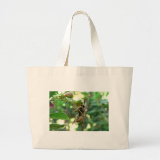 Wasp On Flower Bags