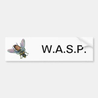 Wasp or Hornet Car Bumper Sticker