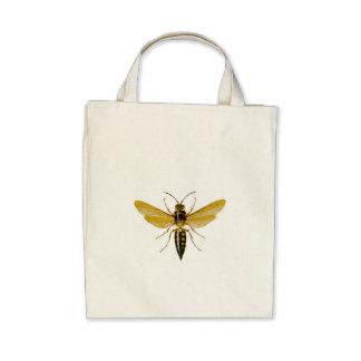 Wasp Organic Tote Bag