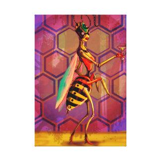 Wasp Queen Canvas Print