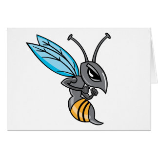 Wasp Sting Greeting Cards