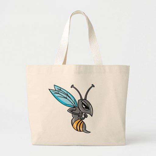 Wasp Sting Jumbo Tote Bag