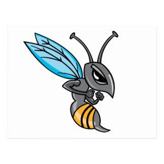 Wasp Sting Postcard