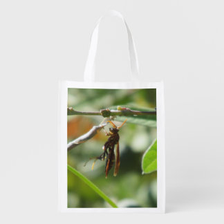 Wasp Reusable Grocery Bags