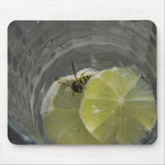 Wasps like martini also. mouse pad