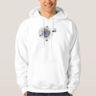 Wasps on  a Hoodie