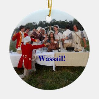 Wassail! Ceramic Ornament