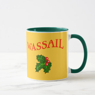 Wassail Mug for Eggnog or Hot Chocolate