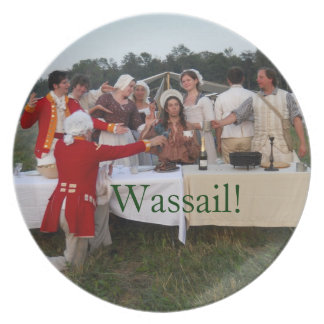 Wassail Plate