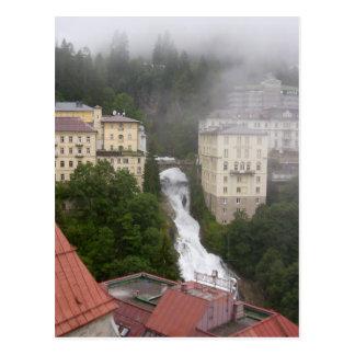 Wasserfall, Bad Gastein Postcard