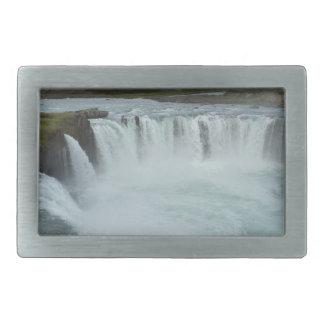 Wasserfall Rechteckige Gürtelschnalle